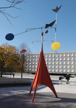 Public Art At Yale Visitor Center