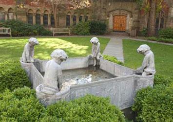 Selin Courtyard Fountain