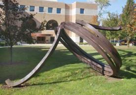 Indeterminate Line sculpture