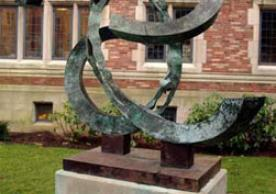 Law Links Generations sculpture