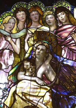 Education (Chittenden Memorial Stained Glass Window)