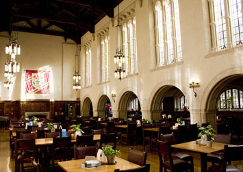 Trumbull College: Dining Hall
